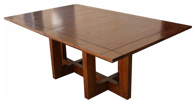 Reclaimed Wood Metro Modern Dining Table Modern Dining