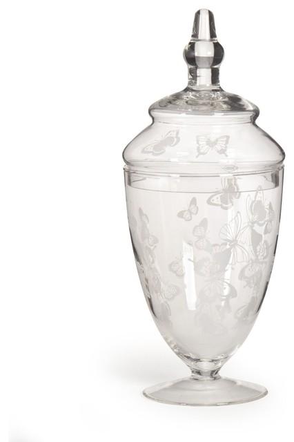 Gla pot coton classique bo te coton par alin a for Pot a coton salle de bain