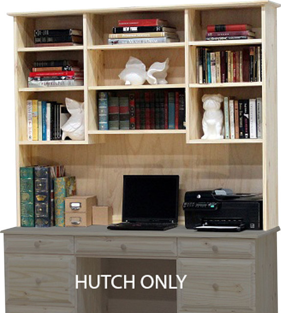 Riverdale Hutch Triple - Desks And Hutches - by Gothic Furniture