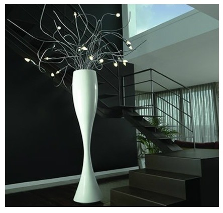 Kenya floor lamp modern floor lamps by olighting for Home decor kenya