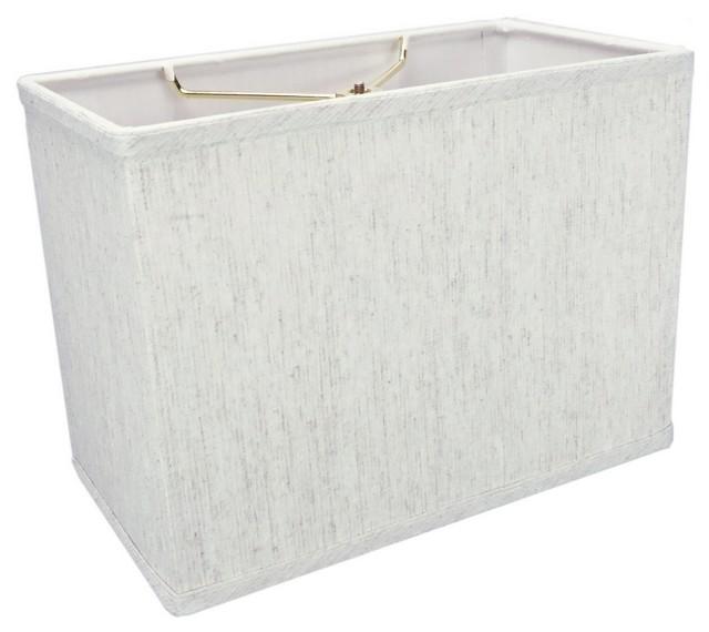 rectangular drum lampshade textured oatmeal linen 6 5. Black Bedroom Furniture Sets. Home Design Ideas