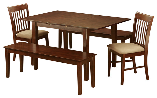 5 Piece Dinette Set Small Dining Tables And 4 Kitchen