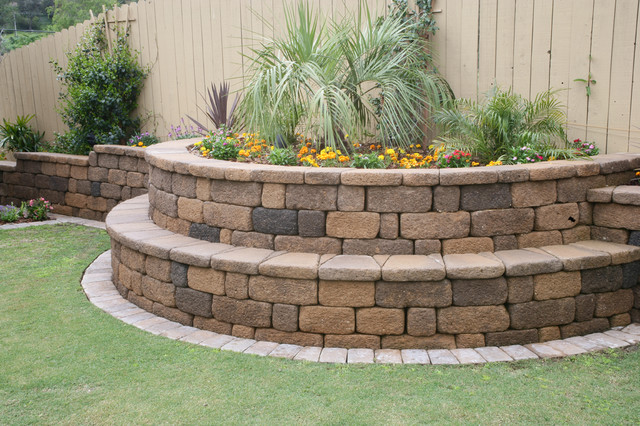 garden design with keystone country manor landscaping stones and pavers san diego with backyard bars from - Garden Design Using Stones