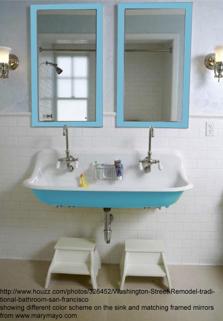 Bright Bathroom Framed Mirrors Traditional Bathroom Mirrors Charlotte By Mary Mayo Design