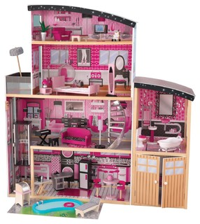 Sparkle Mansion Dollhouse by Kidkraft - Contemporary - Baby And Kids ...