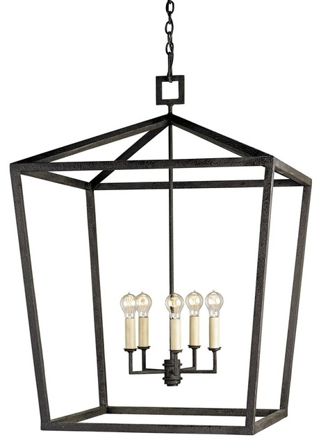 currey and company denison traditional chandelier  large