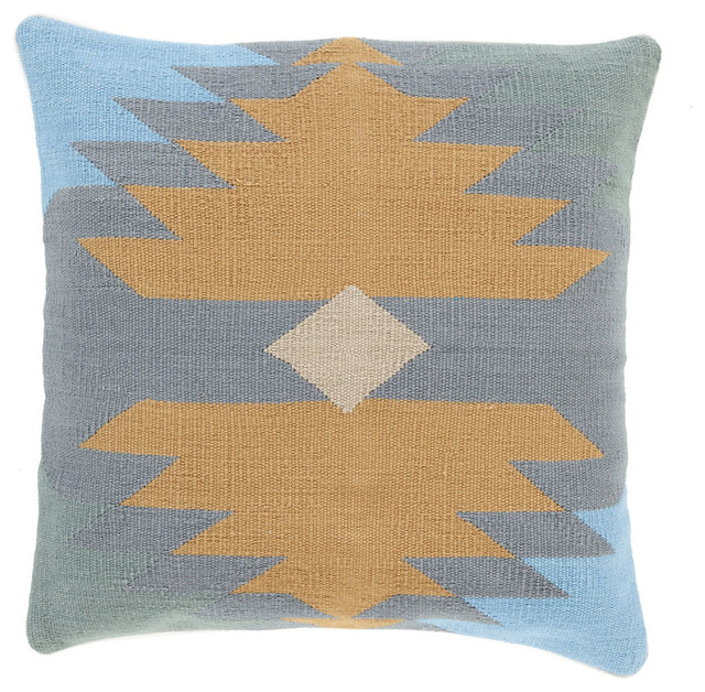 Southwestern Pillows And Throws : Desert Sun Pillow - Southwestern - Decorative Pillows