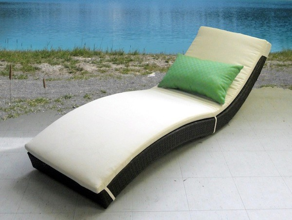 Wicker Patio Furniture Modern Outdoor Chaise Lounges Toronto By Velag