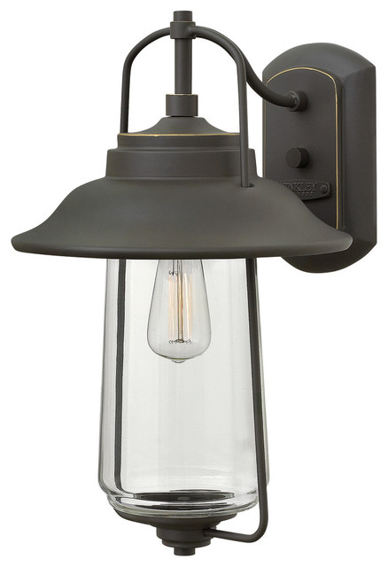 Hinkley Lighting Belden Place Rubbed Bronze Outdoor Wall Sconce Farmhouse
