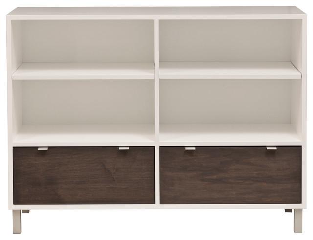 Custom Bookcase Cabinet