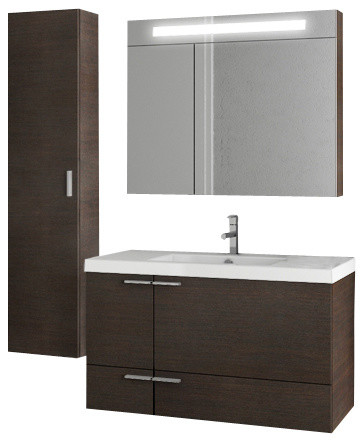 39 inch wenge bathroom vanity set modern bathroom vanities and sink