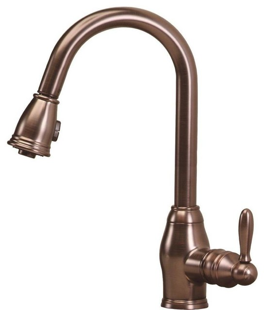 newbury single handle pull down sprayer kitchen faucets vigo vg02001stk2 stainless kitchen faucet traditional