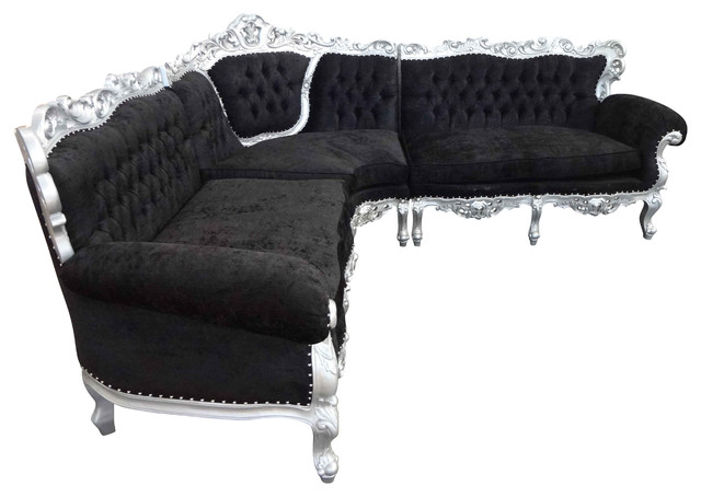 Living room rococo sofa corner sofas south west by - Houzz living rooms with sectionals ...