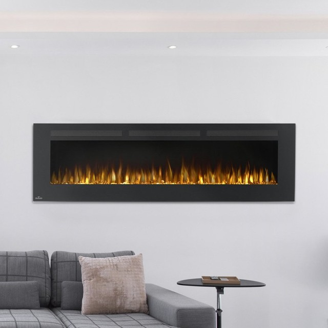 Napoleon Allure Linear Wall Mount Electric Fireplace Nefl32fh Contemporary Indoor