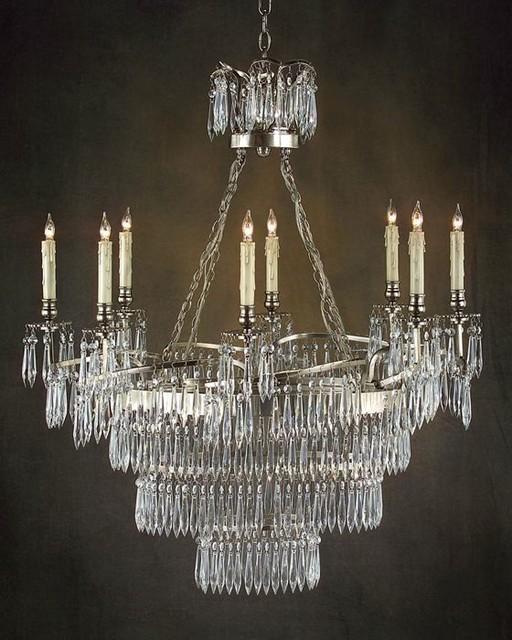 john richard 8 light chandelier ajc 8533 modern. Black Bedroom Furniture Sets. Home Design Ideas