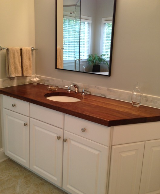 Butcher Block Countertops Charlotte Nc Traditional
