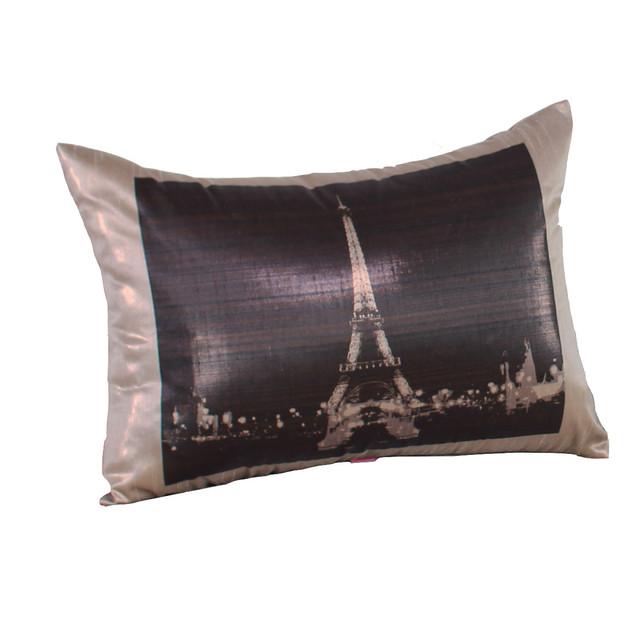 Decorative Pillows Eiffel Tower : Eiffel Tower Pillow - Contemporary - Decorative Pillows - by Dragon 88