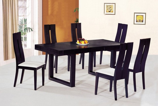 Contemporary Luxury Wooden Dinner Table And Chairs Contemporary Dining Ta
