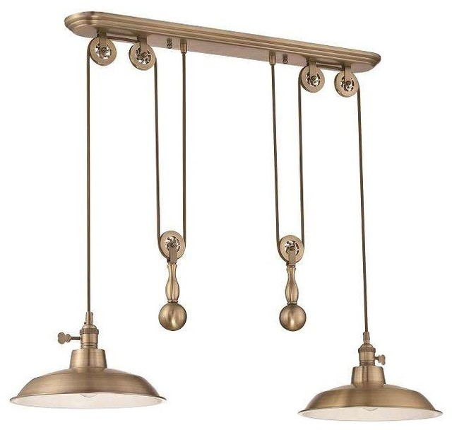 Jeremiah Lighting P402 Island Light Industrial Kitchen Island Lighting By Mylightingsource