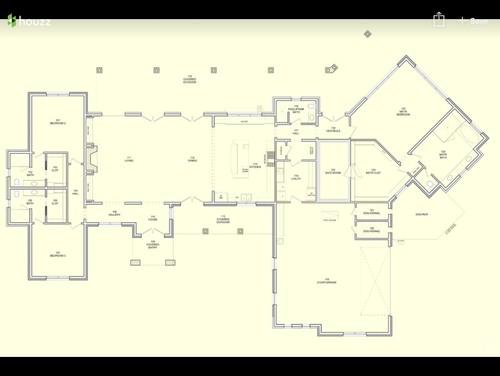 Open Concept Furniture Arrangement