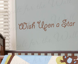 Wall Decal Quote Sticker Vinyl Lettering Graphic Wish Upon