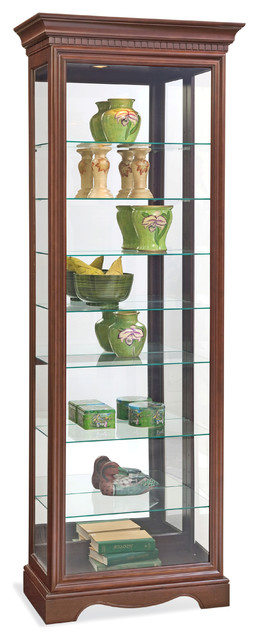 Philip Reinisch Co. Lighthouse Octave III Eight-Shelf Curio Cabinet - China Cabinets And Hutches ...