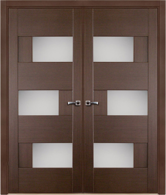 Modern interior doors modern interior doors new york for Modern front double door designs