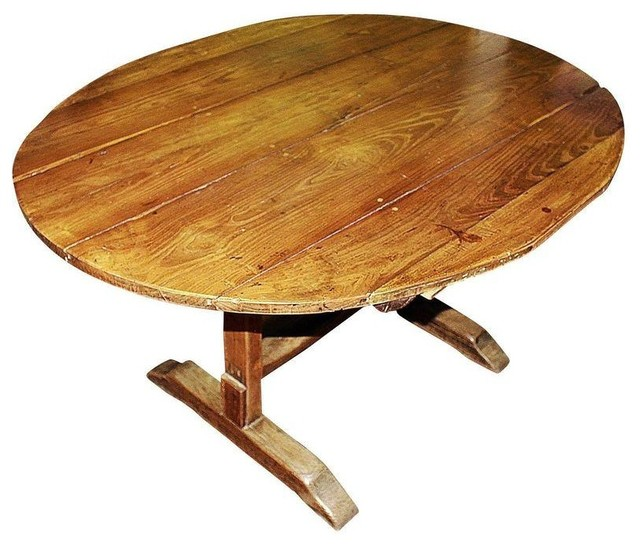 French Wine Tasting Table Circa 1860s - Modern - Dining Tables
