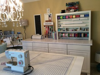 Brand new Sewing room - Eclectic - other metro - by Chiara Rizzo-Hansen Interior Designs