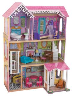 KidKraft Sweet & Pretty Dollhouse - 65859 - Traditional - Kids Toys ...