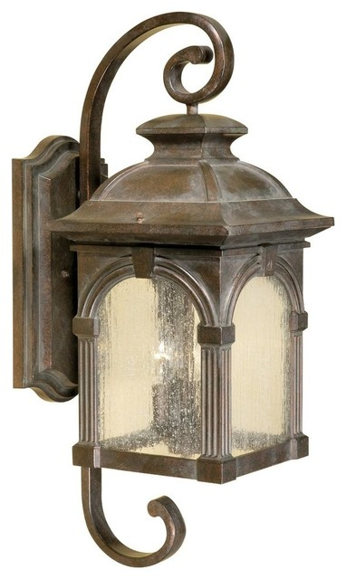 Traditional Outside Wall Lights : Vaxcel Lighting Essex Traditional Outdoor Wall Sconce X-ZBR29783WO - Traditional - Outdoor Wall ...