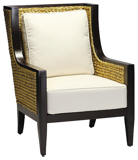 Aqua lounge chair with squared cushion sunbrella arbor for Aqua chaise lounge cushions