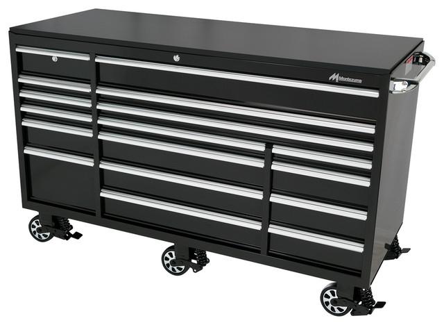 Elite 17-Drawer Roller Cabinet Toolbox - Modern - Kitchen ...