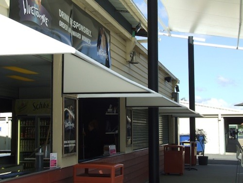 Awnings - Great Residential Shade Solutions modern-window-treatments