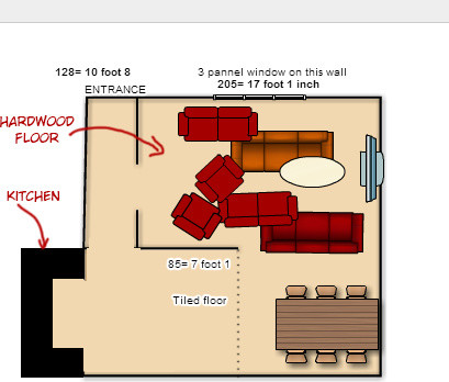 Need help with organizing this l shaped living room - Maximizing design of living room by determining its needs ...