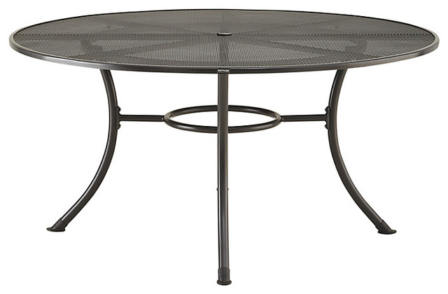 john lewis henley by kettler round 6 seater outdoor dining