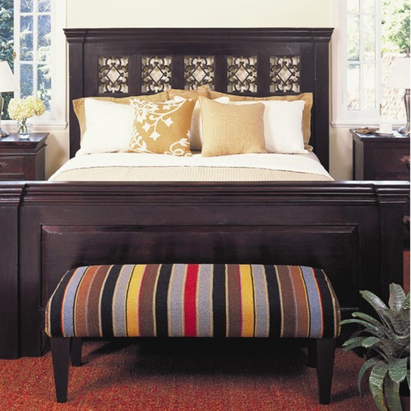 Country-Chic Wood King Size White Storage Bed | Storage beds ...