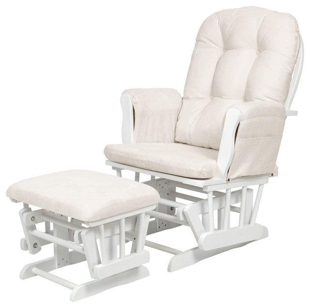kub haywood glider chair stool white classique. Black Bedroom Furniture Sets. Home Design Ideas