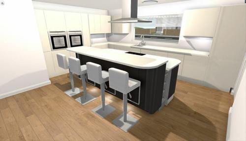 Kitchen flooring dilema for Kitchen design 6m x 4m