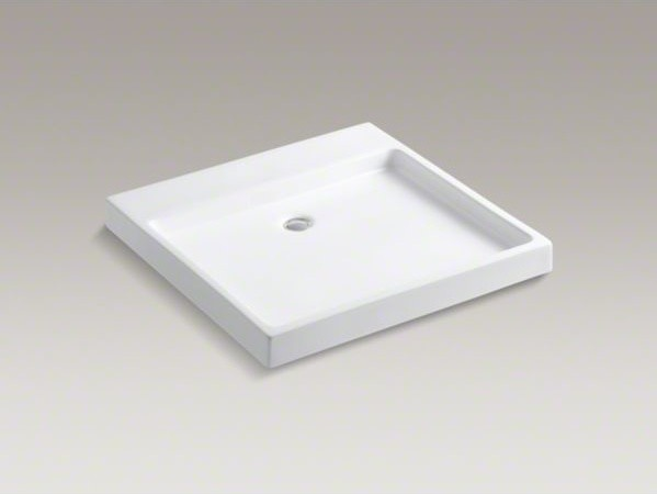 Kohler Purist Sink : KOHLER Purist(R) Wading Pool(R) above-counter/wall-mount bathroom sink ...