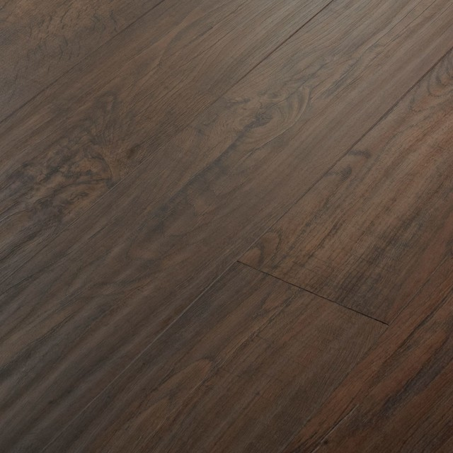 Colours dolce walnut effect laminate flooring for Walnut laminate flooring