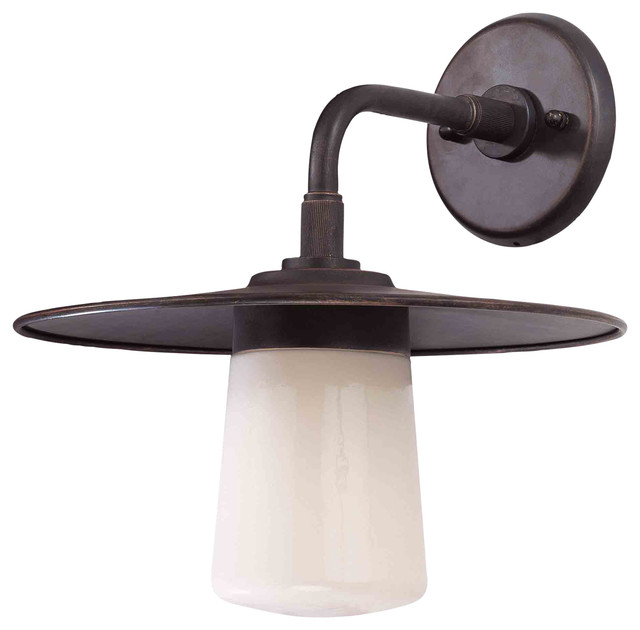 Troy Lighting B2301AB Edison Americana Bronze Outdoor Wall Sconce Farmhouse