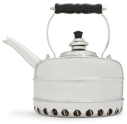 Simplex Chrome Teakettle For Gas Appliances Kettles By