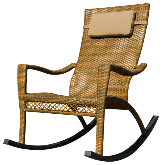 Maracay Rocking Chair Contemporary Outdoor Rocking Chairs by Tortuga Ou