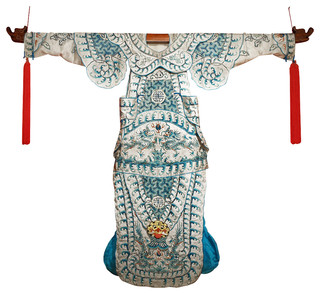 Hand Embroidered Imperial Dragon Silk Kimono - Contemporary ...