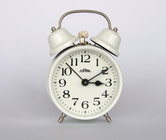 Small Yellow Charlie Clock | World Market