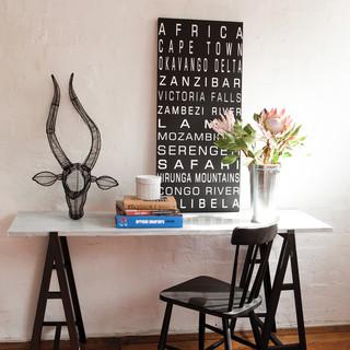 trophy head eclectic home decor melbourne by safari fusion