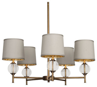 robert abbey latitude h chandelier brass transitional chandeliers