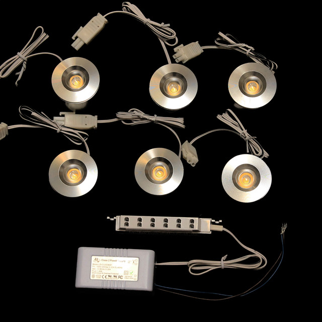 led cabinet downlight kit 2