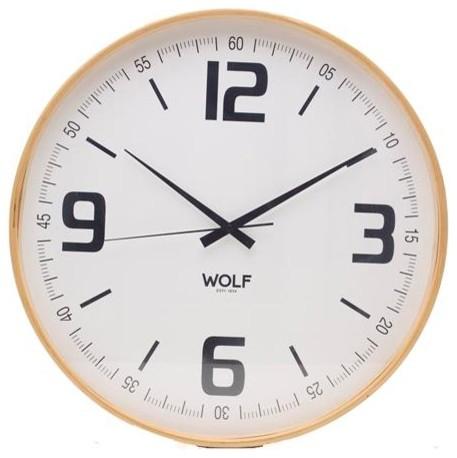 21 round wall clock white contemporary wall clocks